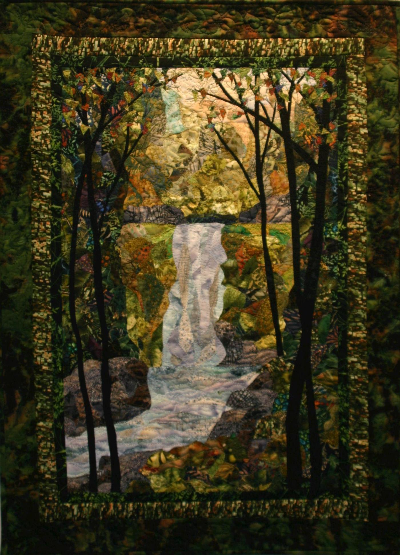 Waterfall by Murray Johnston