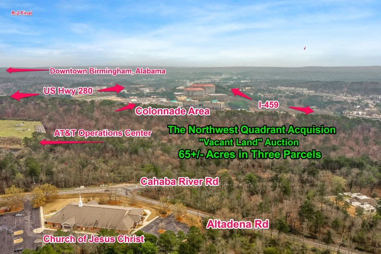 A diagram showing the new multifamily development near The Summit