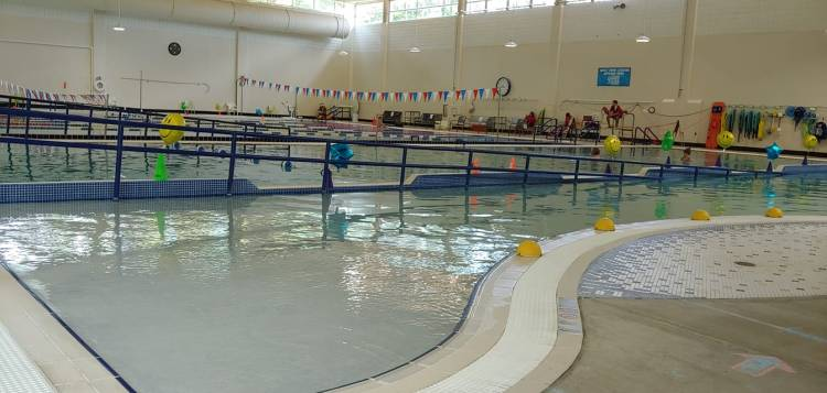 the pool at Lakeshore Foundation is one of the swimming pools in Birmingham that is open