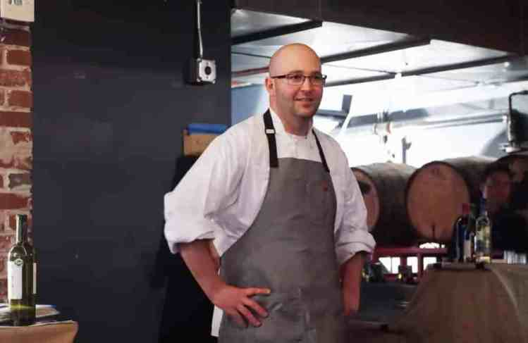 Back Forty Birmingham executive chef Russ Bodner