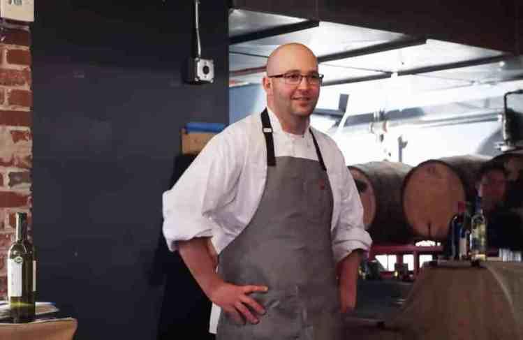Back Forty Birmingham executive chef Russ Bodner