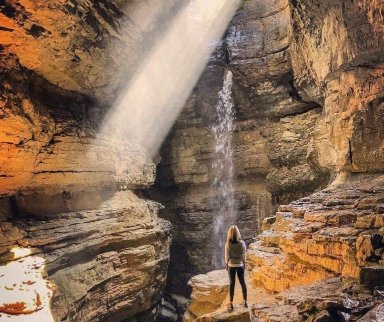 stephens gap waterfall