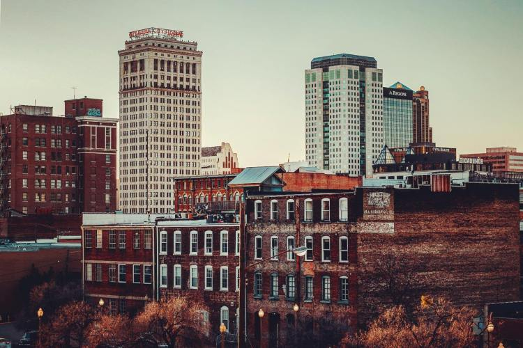 View of Magic City, Birmingham