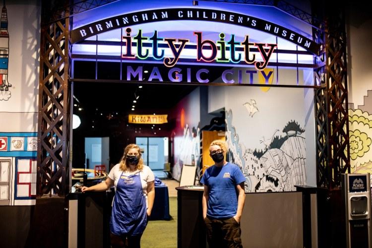 Birmingham, Mcwane Science Center, Itty Bitty Magic City