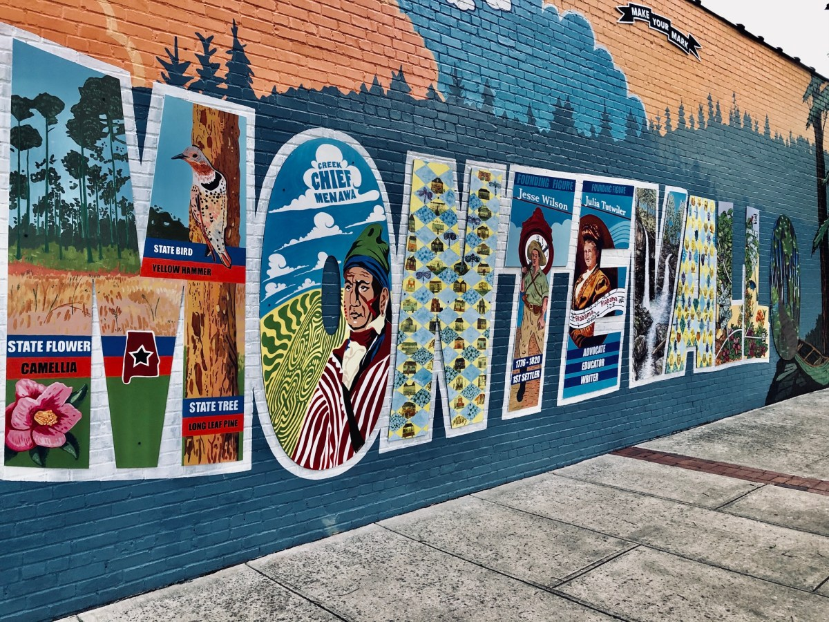 Montevallo celebrates community, history and nature through murals
