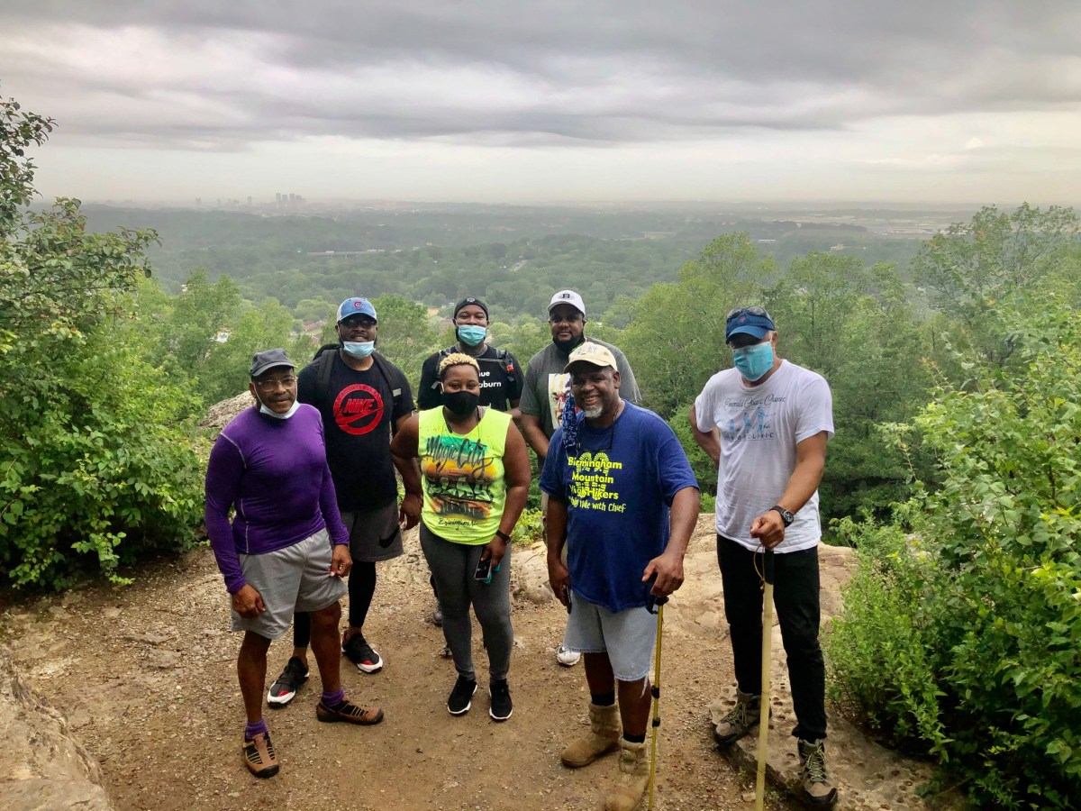 """A """"Walk in the Woods"""" with the Birmingham Mountain High Hikers at Ruffner Mountain"""