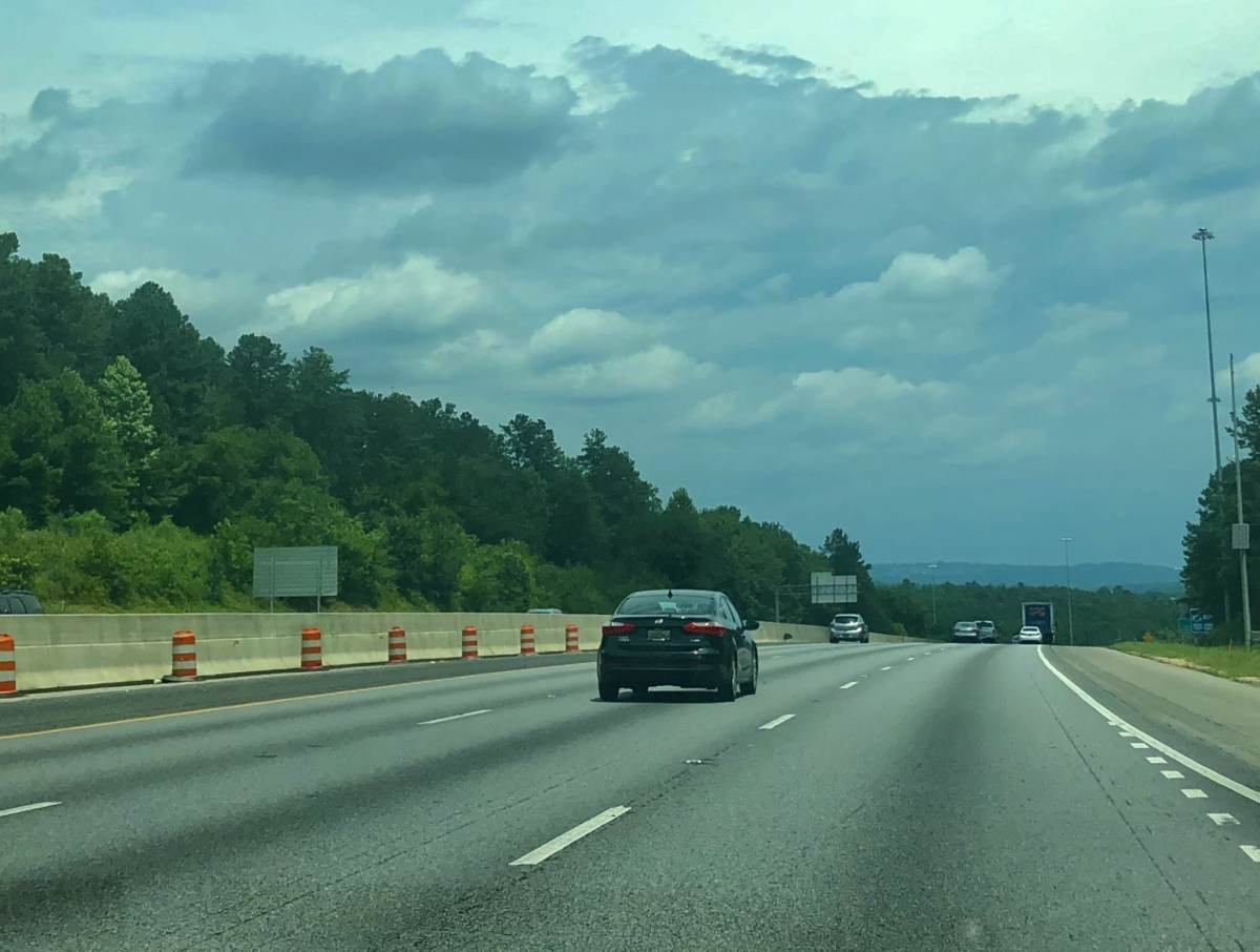 Commuters rejoice! The widening of I-65 between Alabaster and I-459 has begun