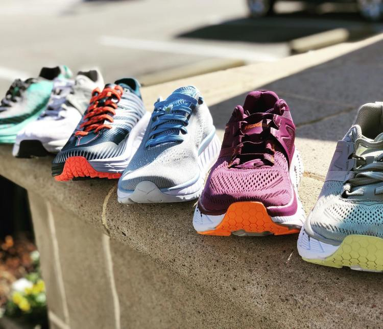 Hoka is an amazing brand of comfy shoes.