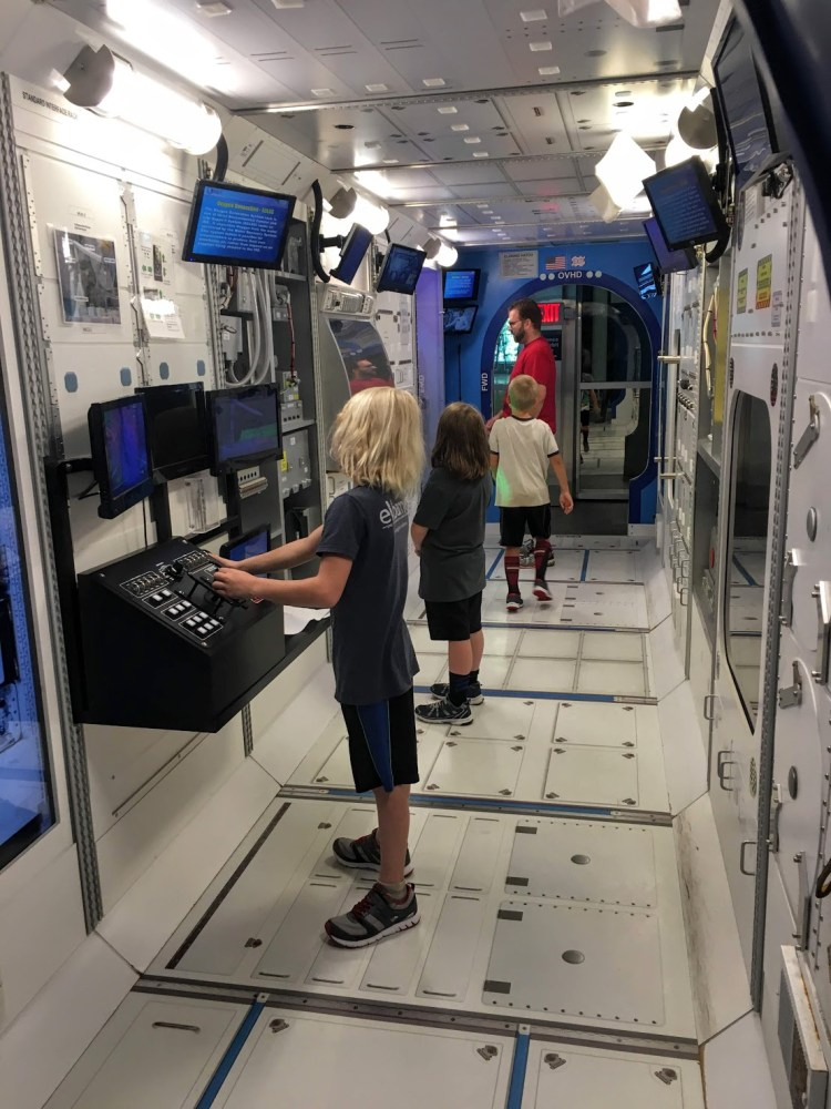 exploring space travel at the U.S. Space & Rocket Center