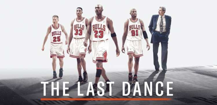 The Last Dance is a doc on ESPN featuring Michael Jordan's last championship year with the Chicago Bulls