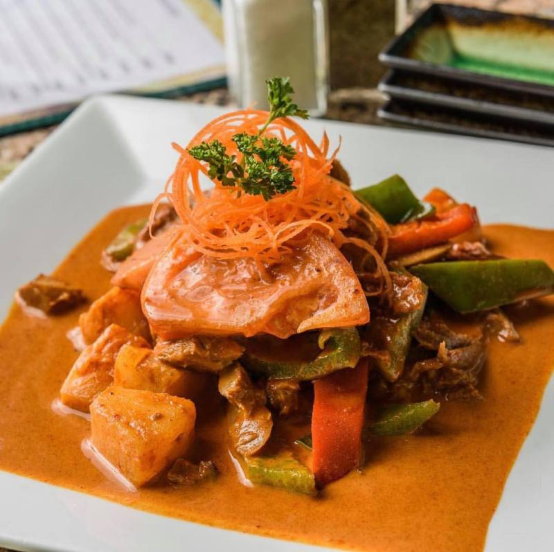 Birmingham, NORI Thai and Sushi Birmingham, curry