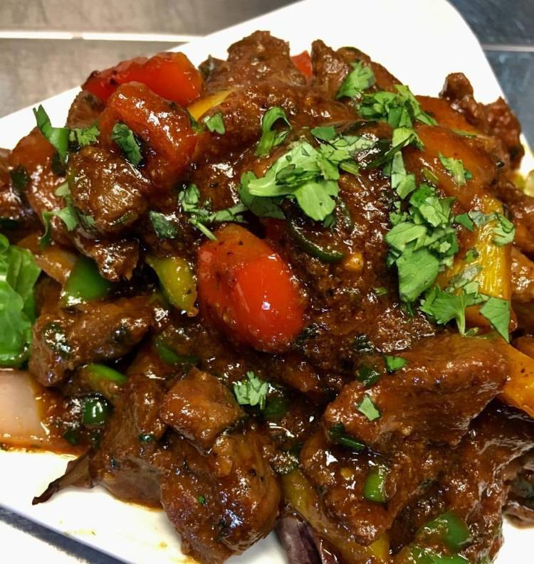 Birmingham, Abhi Sushi Restaurant, curry