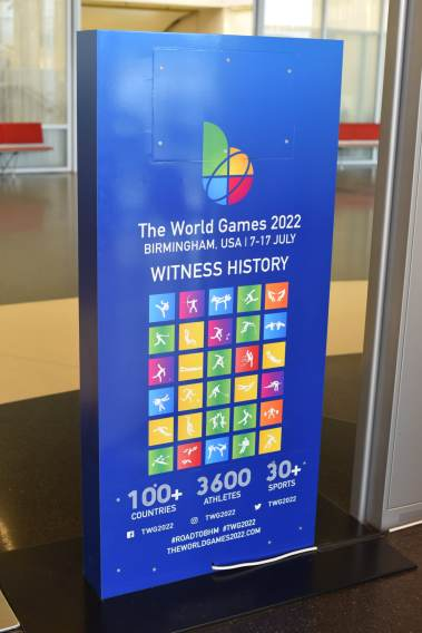 Sign for The World Games 2022