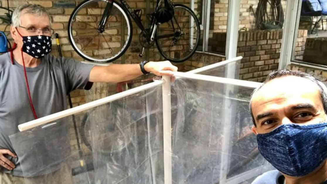 These two Birmingham men designed $2 desk partitions. Could this make school return safer?