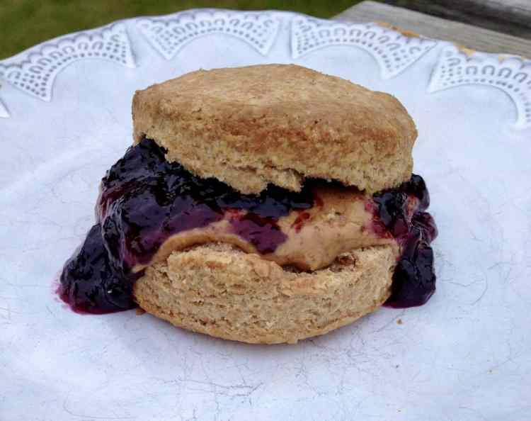 Birmingham, Alabama Biscuit Company, PB&J, peanut butter and jelly