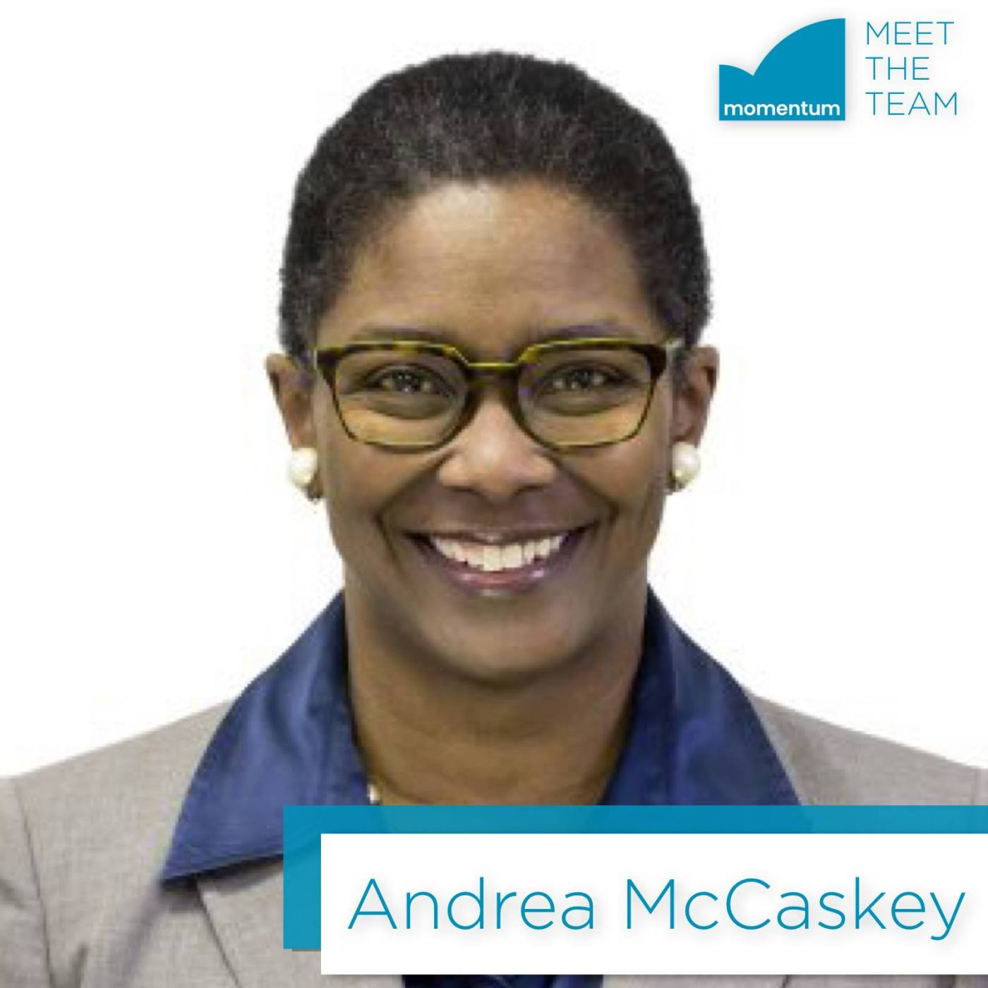 Andrea McCaskey is Momentum's Director of Programs
