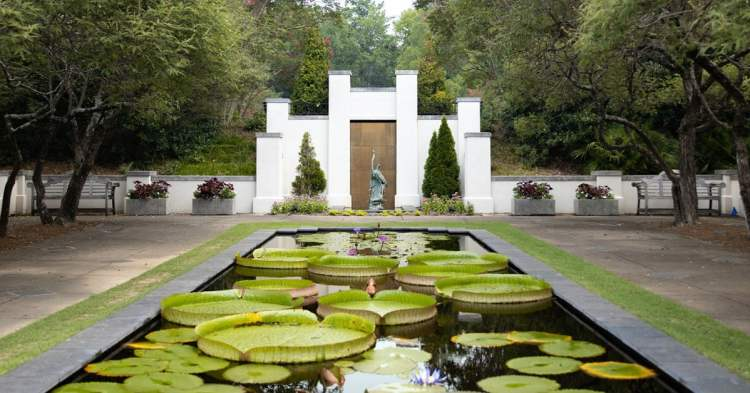 The Birmingham Botanical Gardens is one of the organizations that's reopened