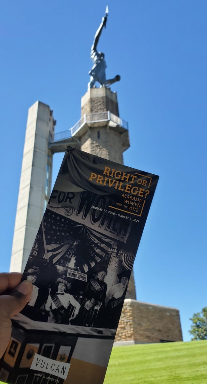 Right or Privilege exhibit at Vulcan Park and Museum