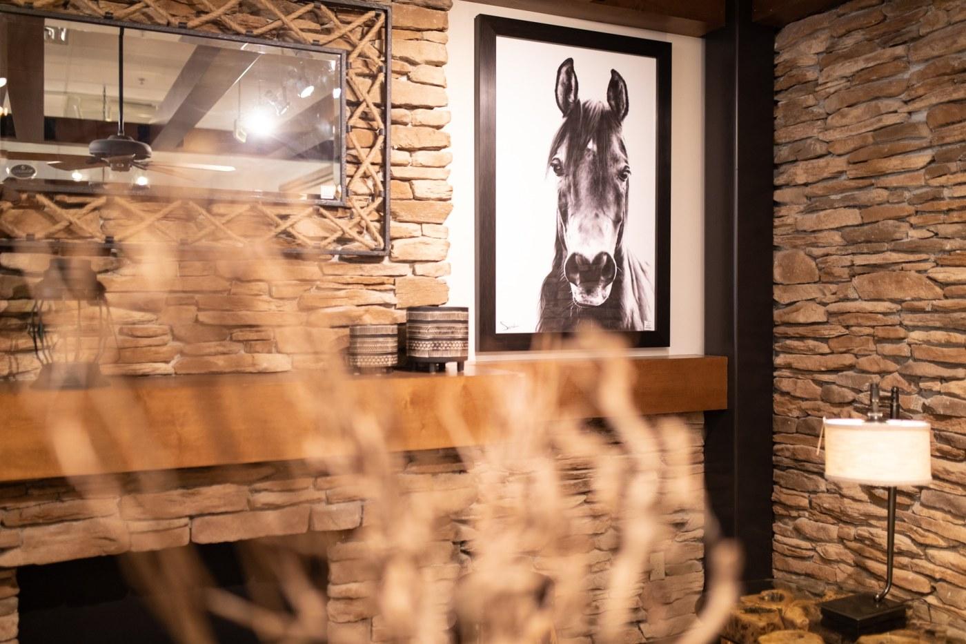 La-Z-Boy furniture horse print
