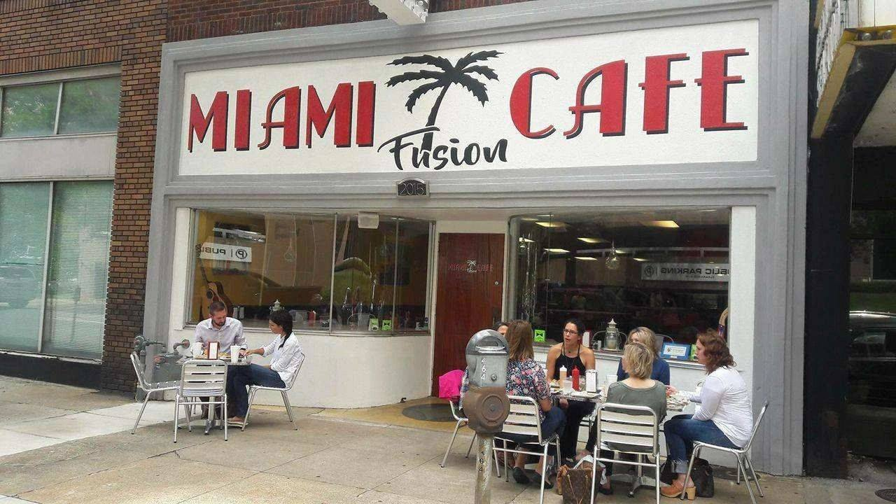 Storefront of Miami Fusion Cafe