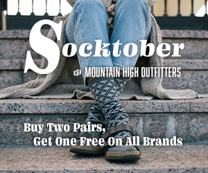 Mountain High Outdoors Socktober