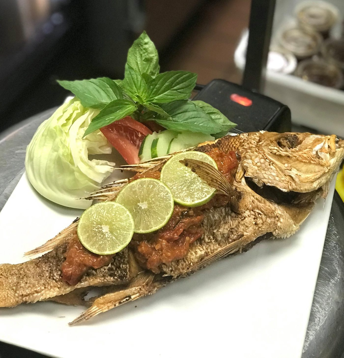 Indonesian food at Nori Thai and Sushi on the #secretmenu