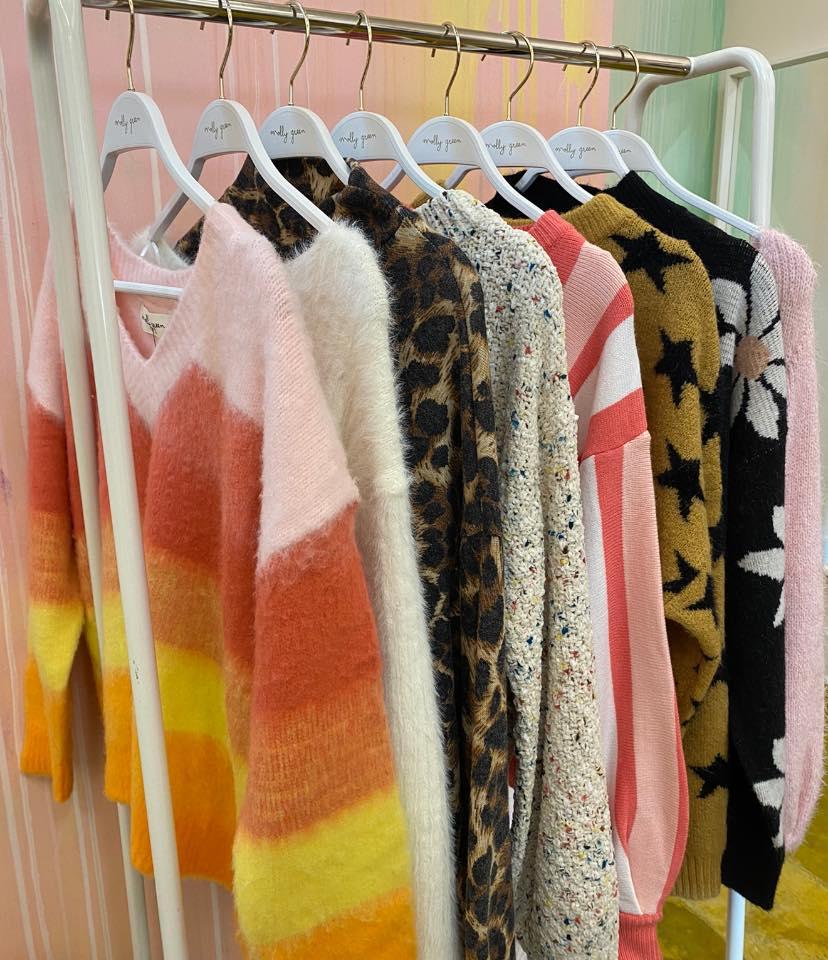 Birmingham, Molly Green, sweaters