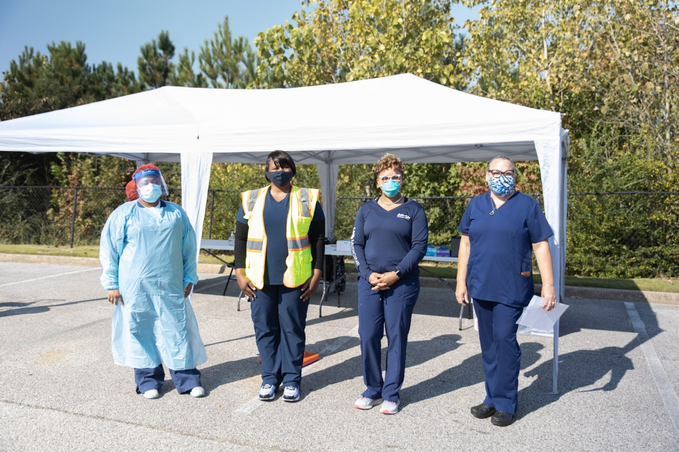 Health professionals offering testing in the community