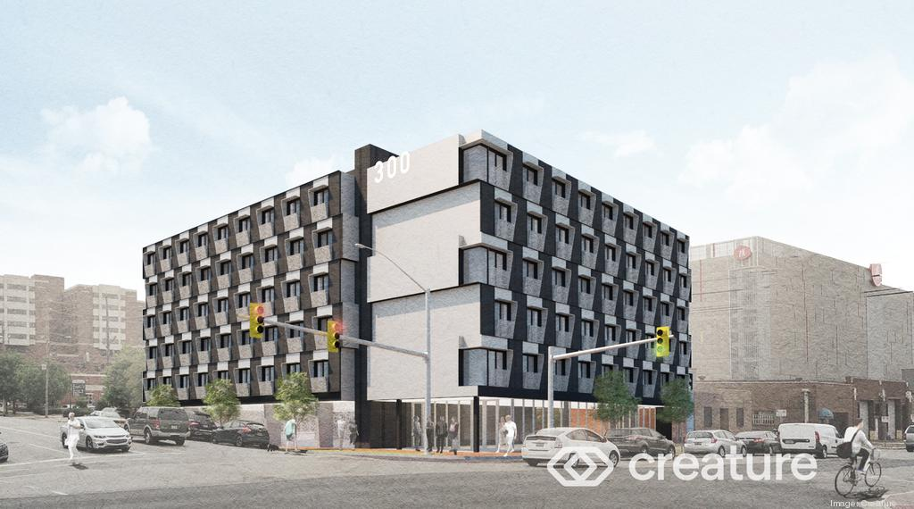 Micro-unit housing at The Citizen
