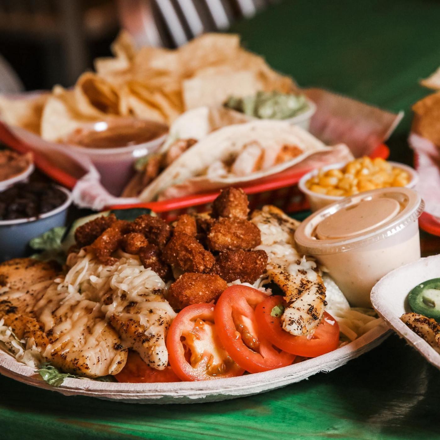 The food at Taco Mama is soooo good