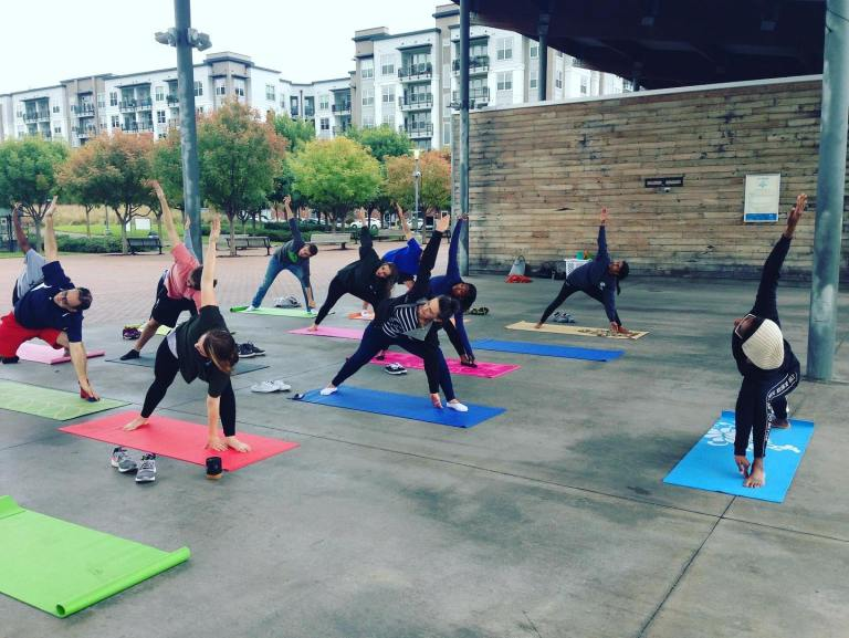 yoga-A Friend of Mine