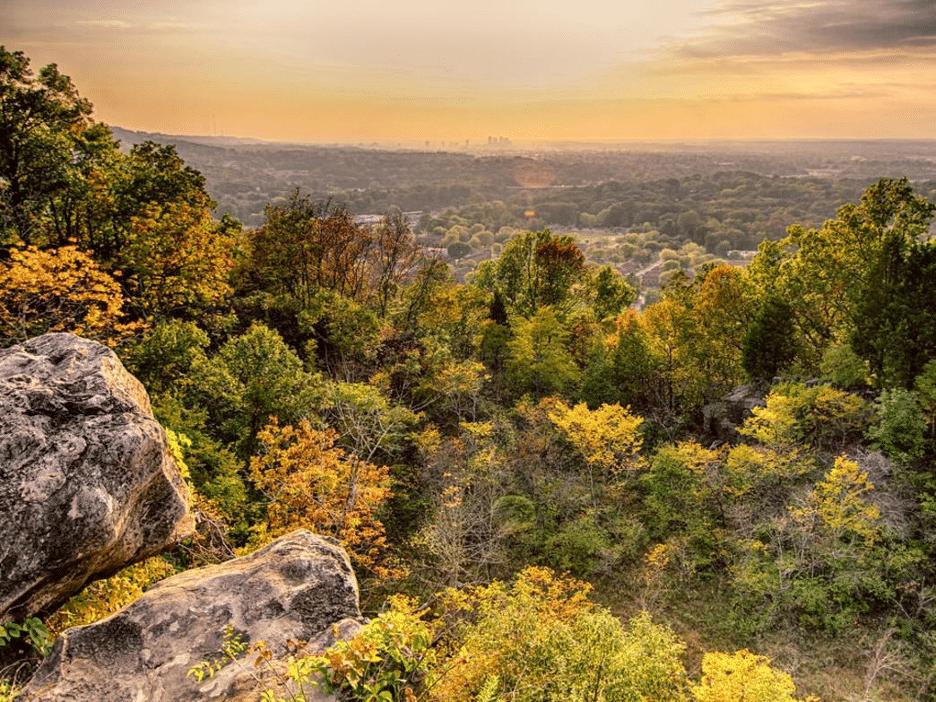 Sunrise View from Ruffner Mountain