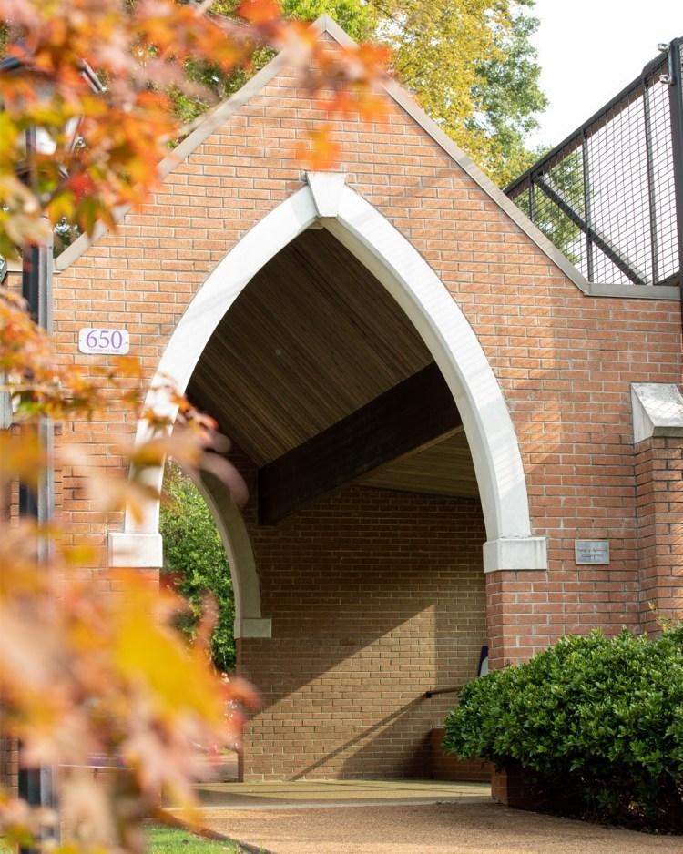 UNA's campus in the fall