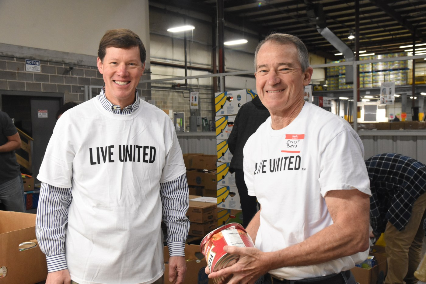UWCA's Tocqueville Society and Young Philanthropist Society volunteering