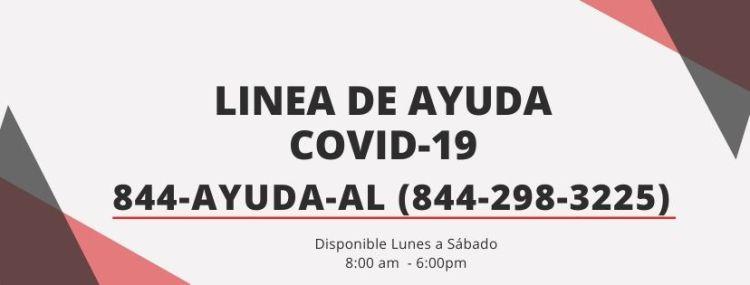 Linea de Ayuda COVID-19