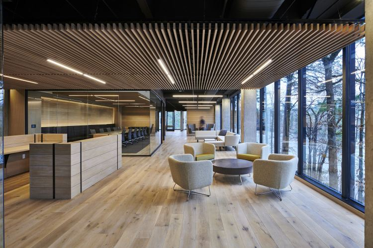 Birmingham future offices have spaces for informal gatherings