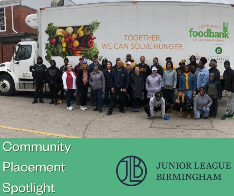 JLB at Community Food Bank of Central Alabama