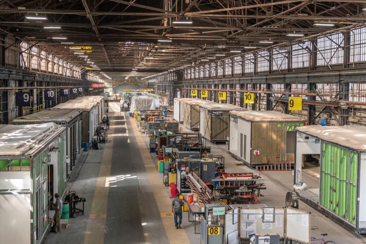 BLOX Bessemer warehouse