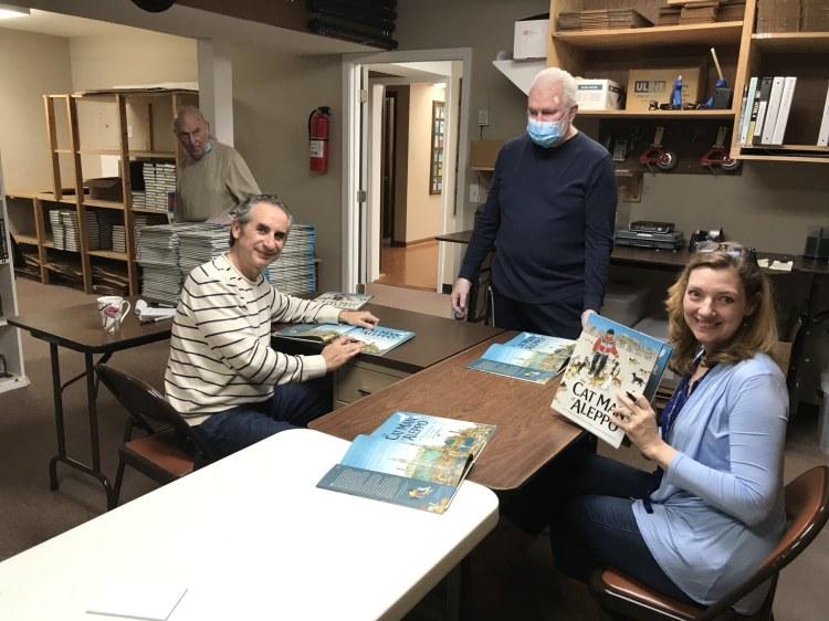 Karim Shamsi-Basha and Irene Latham, The Cat Man of Aleppo, books
