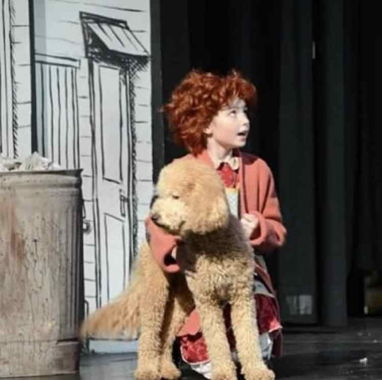 Marcelle as Annie