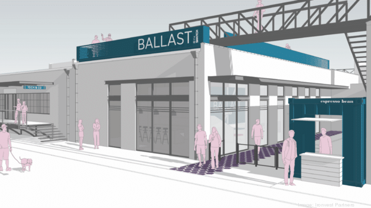 Rendering of Ballast at the Switch