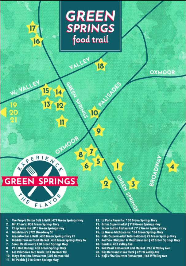 Green Springs Highway Food Trail