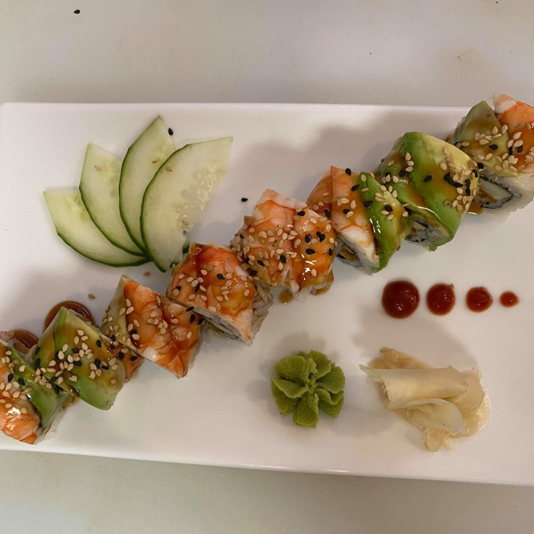 Sushi roll from Thai Basil and Sushi