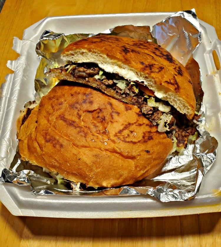 Torta sandwich from Tortas Locas