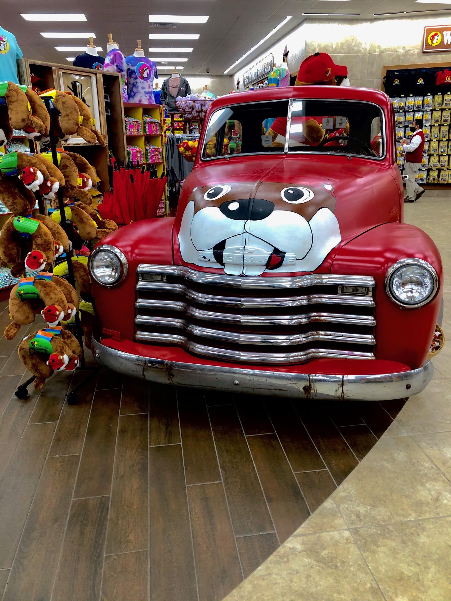 Buc-ee's Car
