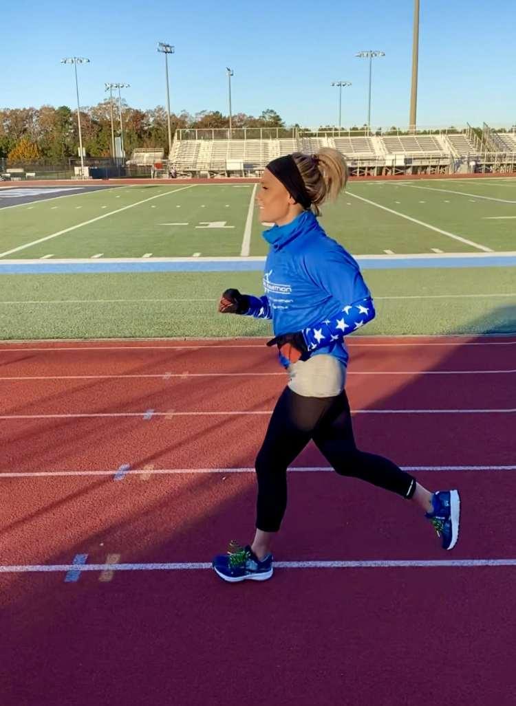 Brittany Decker WVTM 13 running