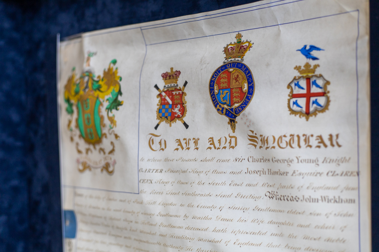Knighting Certificate