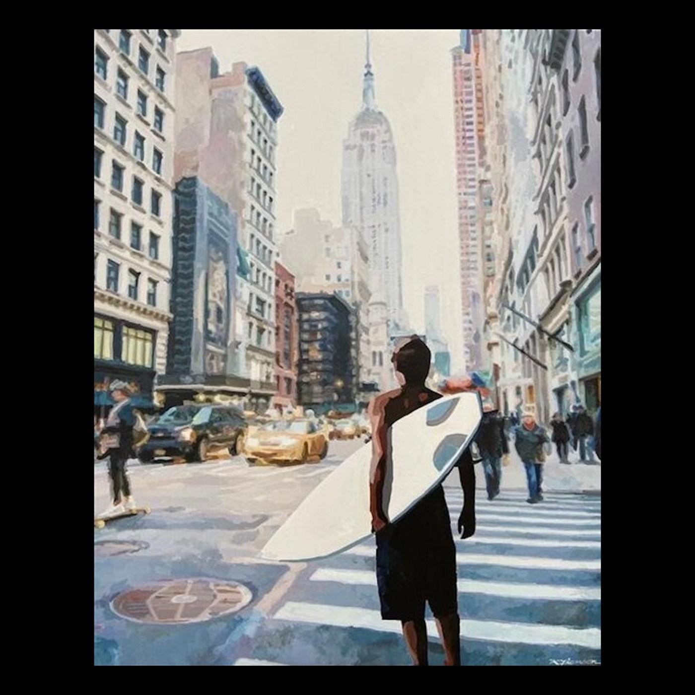 Keith Thomson painting