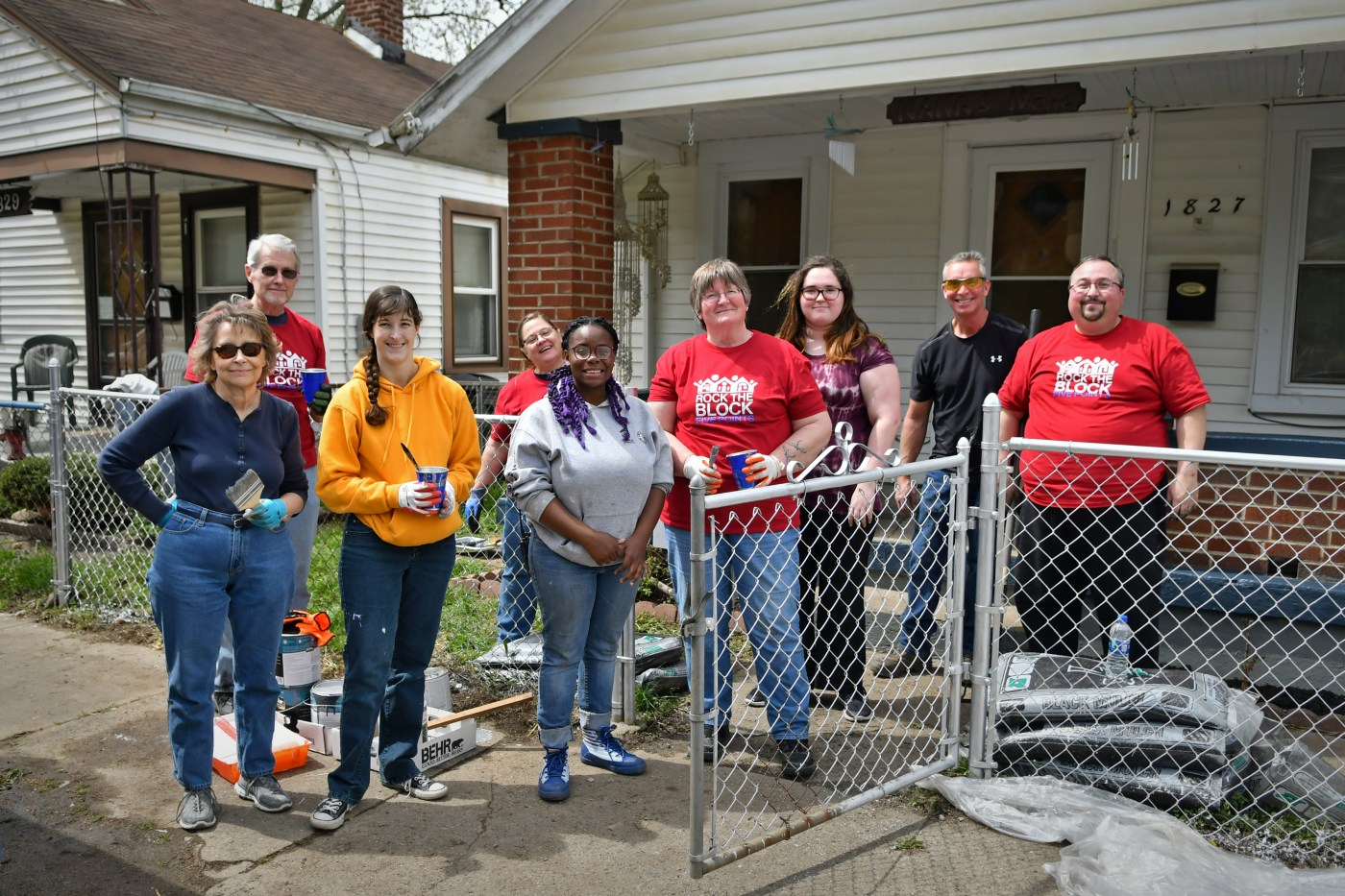 Habitat for Humanity House project