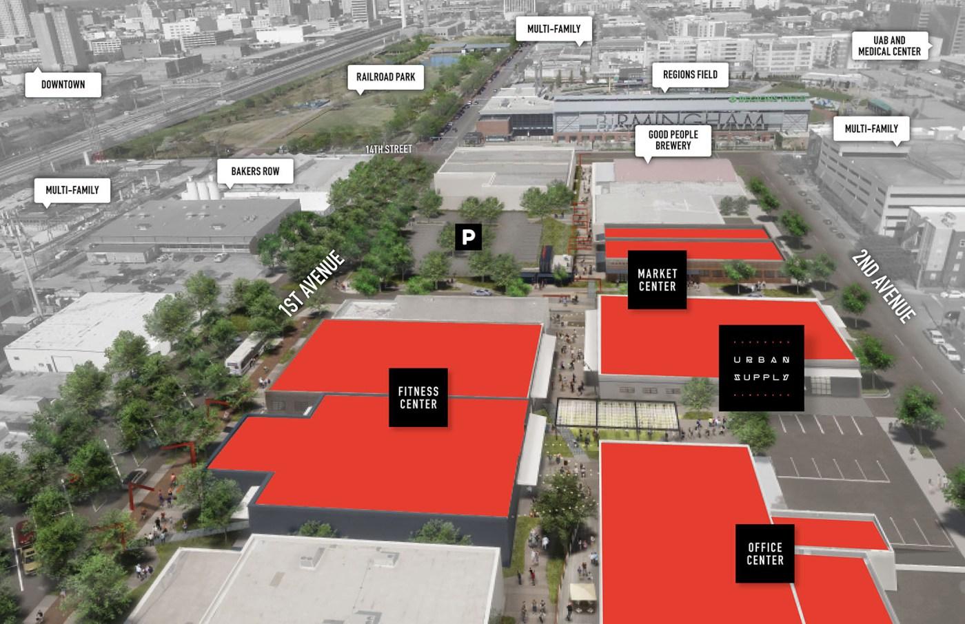 urban supply rendering